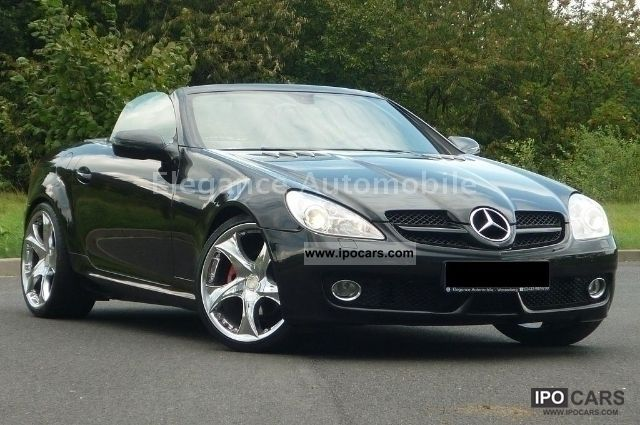 2008 Mercedes Benz Slk 200 Compressor Command Leather
