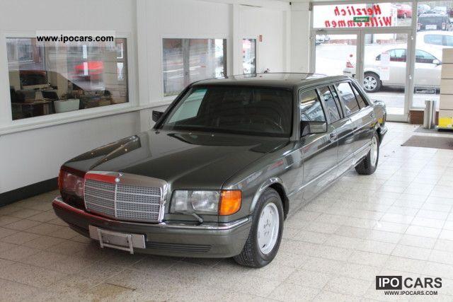 1991 Mercedes-Benz  560 SEL AMG Pullman * original * Stretch Limousine Limousine Used vehicle photo