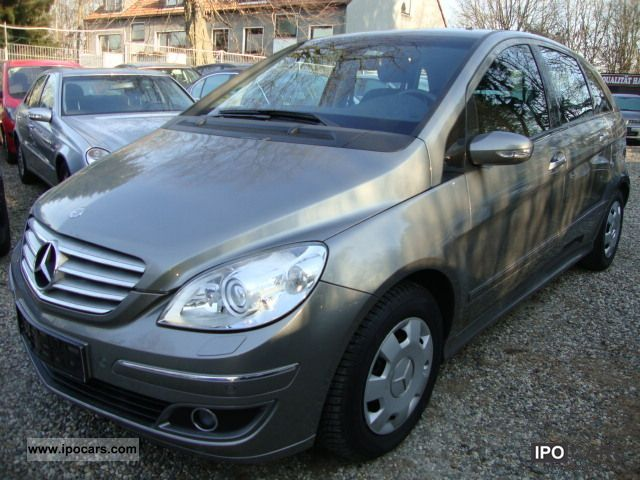 2005 mercedes benz b 170 panorama roof parking sensors xenon car photo and specs. Black Bedroom Furniture Sets. Home Design Ideas