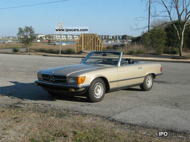 1983 mercedes benz sl 280 car photo and specs. Black Bedroom Furniture Sets. Home Design Ideas