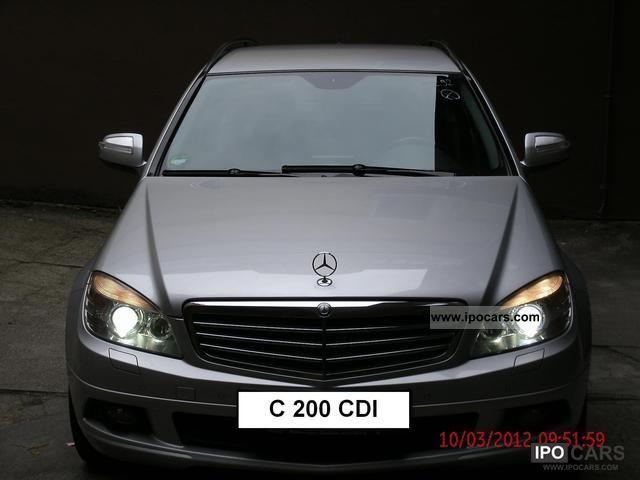 2008 Mercedes-Benz  C 200 CDI Automatic DPF Estate Car Used vehicle photo