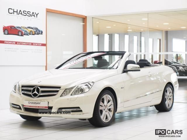 2011 mercedes benz e 220 cabriolet 220 cdi blueefficiency 7g tronic car photo and specs. Black Bedroom Furniture Sets. Home Design Ideas