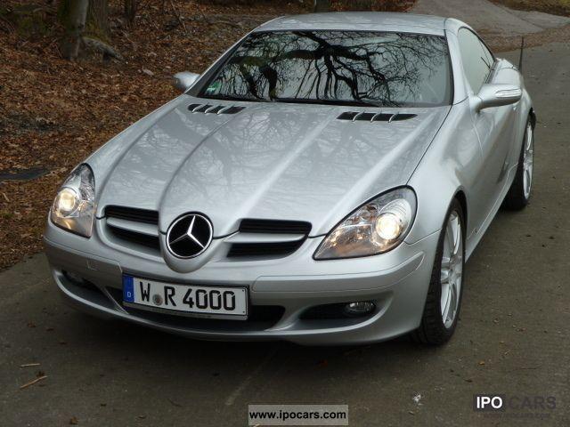 2006 Mercedes Benz Slk 200 Compr M Sports Suspension
