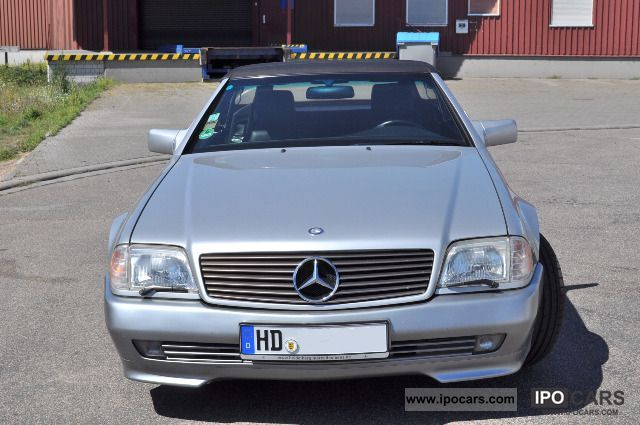 1994 mercedes benz sl 320 like new hardtop car. Black Bedroom Furniture Sets. Home Design Ideas