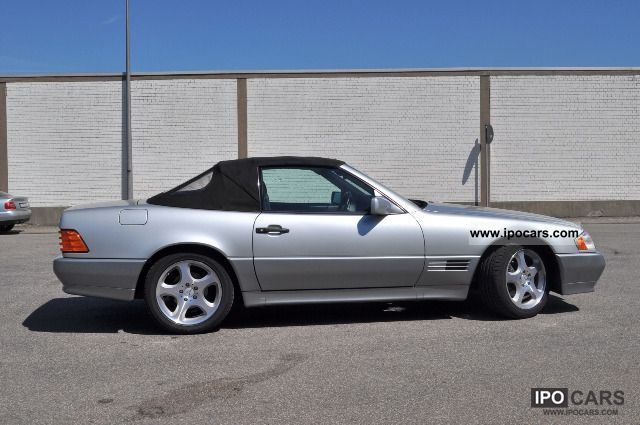 1994 mercedes benz sl 320 like new hardtop car photo and specs. Black Bedroom Furniture Sets. Home Design Ideas