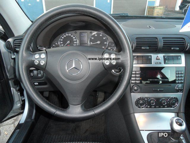 2007 Mercedes Benz C 180 Kompressor Sport Coupe Only