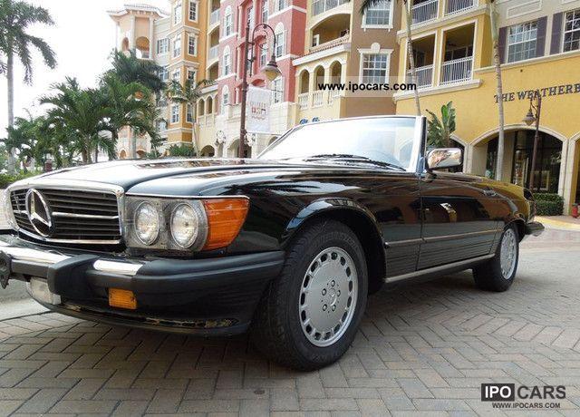 1986 mercedes benz sl 560 excellent condition car. Black Bedroom Furniture Sets. Home Design Ideas