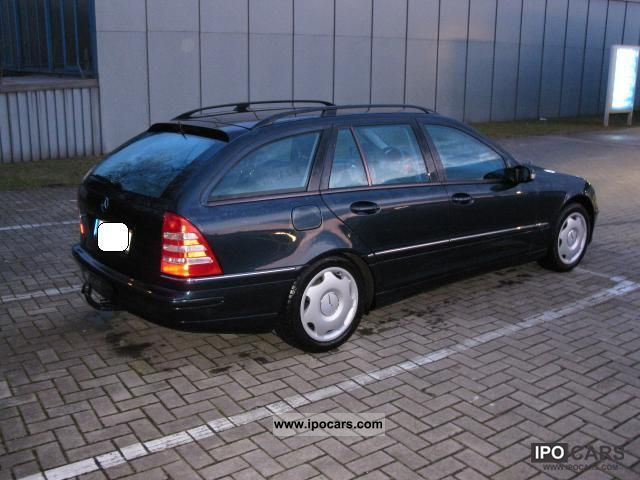 2001 mercedes benz c 220 t cdi avantgarde car photo and specs. Black Bedroom Furniture Sets. Home Design Ideas