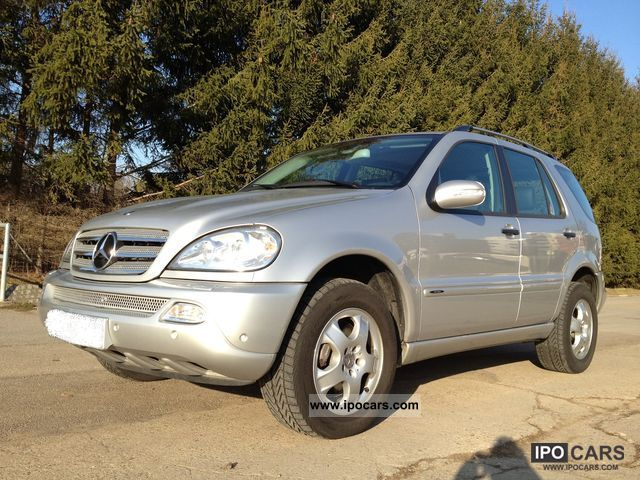 2004 mercedes benz ml 400 cdi final edition checkbook mb car photo and specs. Black Bedroom Furniture Sets. Home Design Ideas