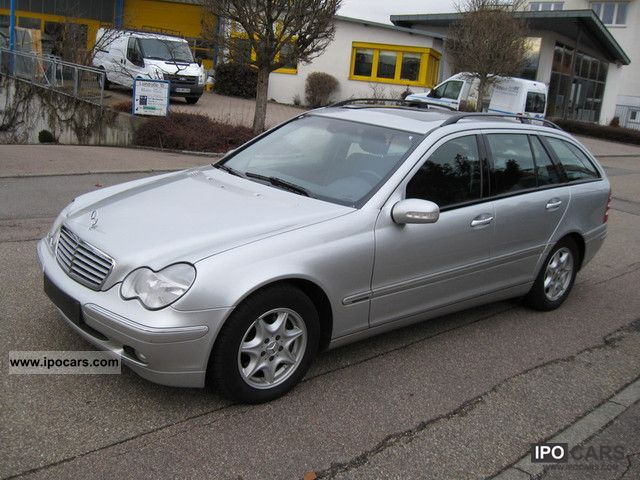 2003 mercedes benz c 220 t cdi automatic air 0 1 sd hand bj 11 2003 car photo and specs. Black Bedroom Furniture Sets. Home Design Ideas