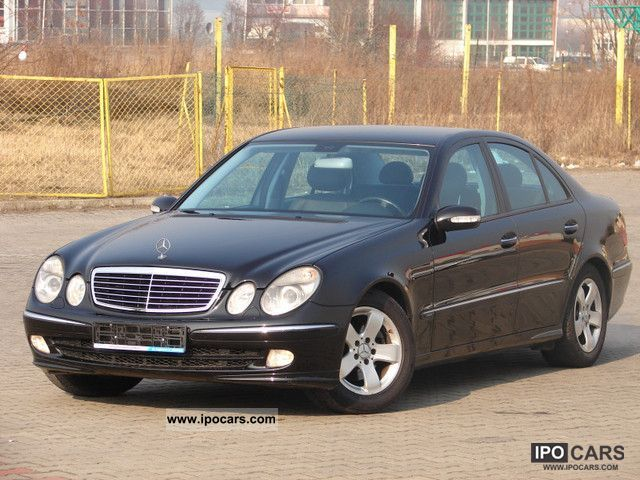 2002 mercedes benz e 270 cdi avantgarde xenon vision car photo and specs. Black Bedroom Furniture Sets. Home Design Ideas