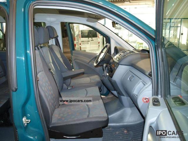 2009 Mercedes Benz Vito Long 111 Cdi Combi Uv Air 9