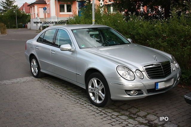 2006 mercedes benz e 320 cdi avantgarde 7g tronic dpf car photo and specs. Black Bedroom Furniture Sets. Home Design Ideas