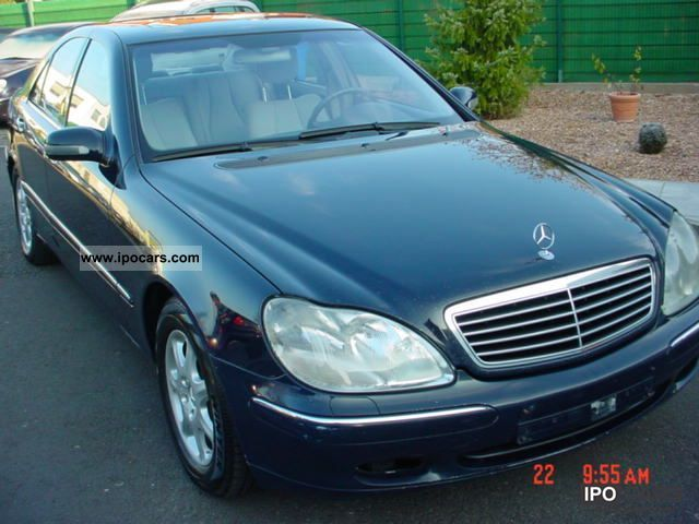 2000 mercedes benz s 430 car photo and specs for Mercedes benz s 430