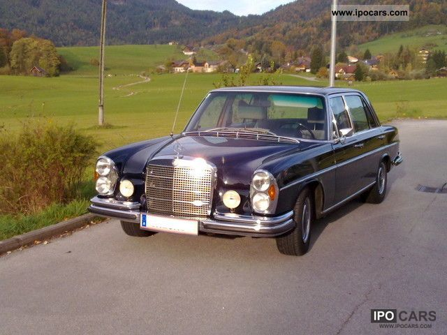 Mercedes-Benz  300 SEL 6.3 1971 Vintage, Classic and Old Cars photo