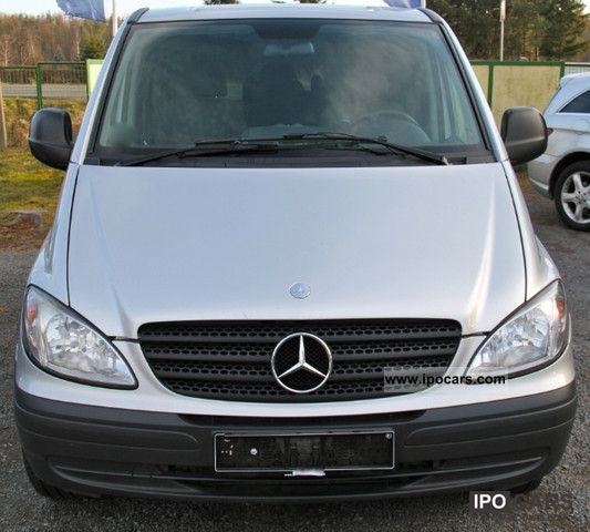 2005 mercedes benz vito 115 cdi compact aut mixto car photo and specs. Black Bedroom Furniture Sets. Home Design Ideas