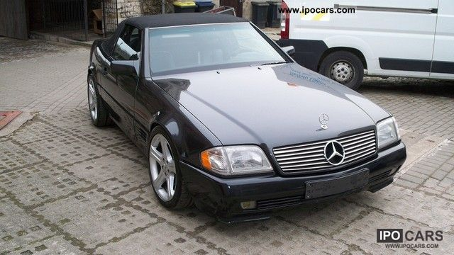1993 mercedes benz sl 500 car photo and specs. Black Bedroom Furniture Sets. Home Design Ideas