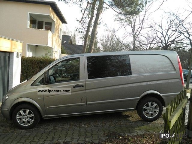 2008 mercedes benz vito 115 cdi extra long dpf aut mixto car photo and specs. Black Bedroom Furniture Sets. Home Design Ideas