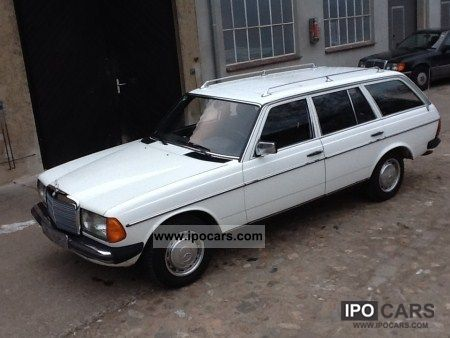 1985 Mercedes-Benz  200 T, w123, AHK, SSD Estate Car Used vehicle photo