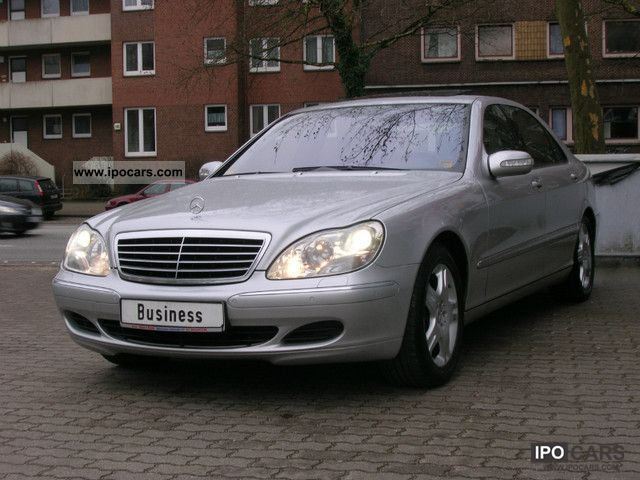2005 mercedes benz s 400 cdi l car photo and specs. Black Bedroom Furniture Sets. Home Design Ideas