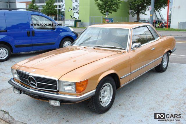 1973 mercedes benz 350 slc rare colour combination for Mercedes benz 350 slc