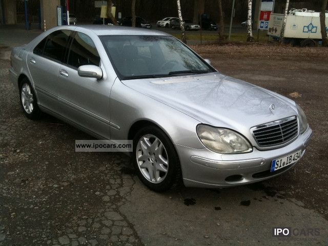 2002 mercedes benz s 320 cdi car photo and specs. Black Bedroom Furniture Sets. Home Design Ideas