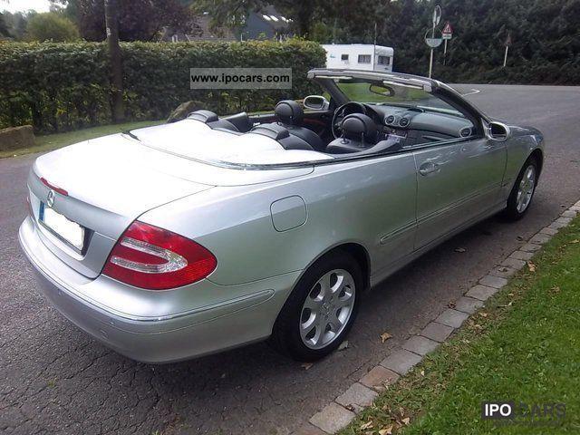 2005 mercedes benz clk 240 convertible elegance auto for Mercedes benz clk 240