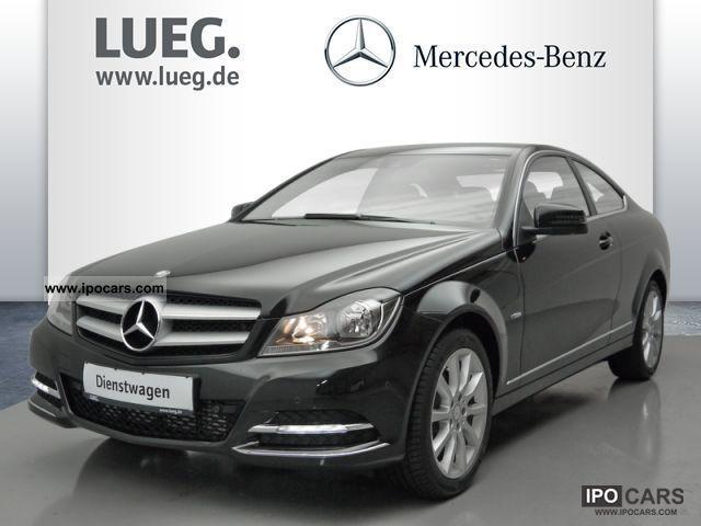2012 mercedes benz be c 180 coupe navi parktronic car for Mercedes benz parktronic