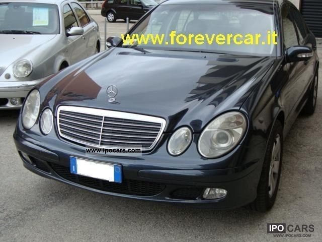 2004 mercedes benz e 220 cdi avantgarde full option car photo and specs. Black Bedroom Furniture Sets. Home Design Ideas