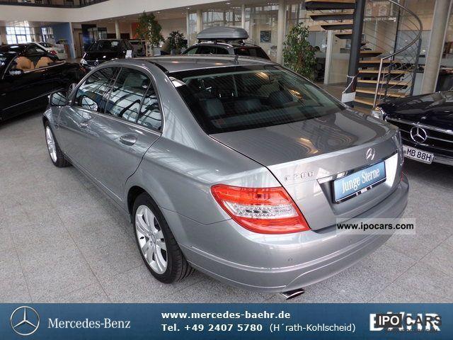 2007 mercedes benz c 200 k avantgarde xenon auto for Mercedes benz parktronic