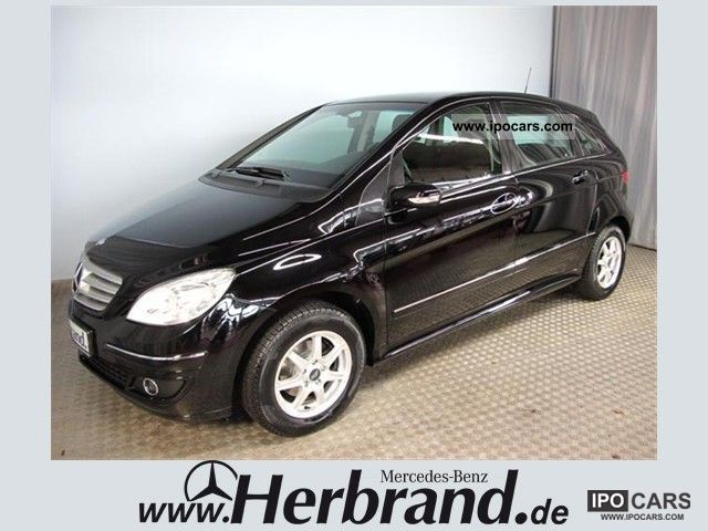 2006 mercedes benz b 150 chrome package car photo and specs. Black Bedroom Furniture Sets. Home Design Ideas