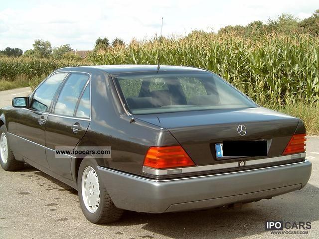 1992 mercedes benz 500 se car photo and specs for Mercedes benz 500se