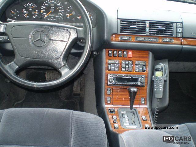 1992 Mercedes Benz 500 Se Car Photo And Specs