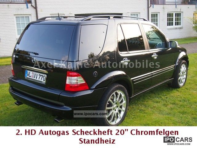 Mercedes-Benz  ML 55 LPG Scheckh.2.HD. 20 \ 2002 Liquefied Petroleum Gas Cars (LPG, GPL, propane) photo