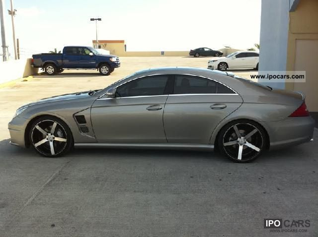 2008 Mercedes Benz Cls 500 Car Photo And Specs