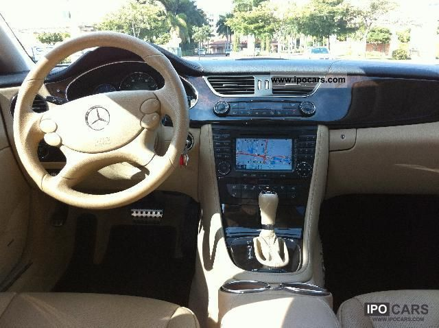 2008 MercedesBenz CLS 500  Car Photo and Specs