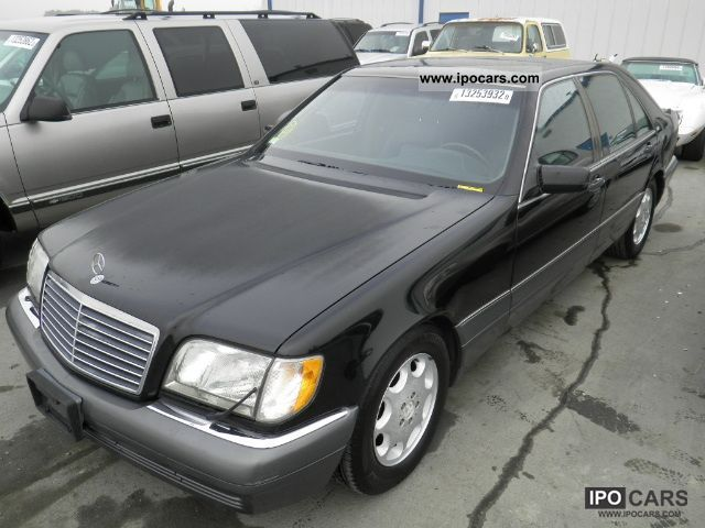 1996 mercedes benz s 600 car photo and specs for 1996 mercedes benz