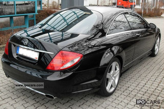 2009 Mercedes Benz Cl 500 4matic 7g Keyless Go Amg Distr