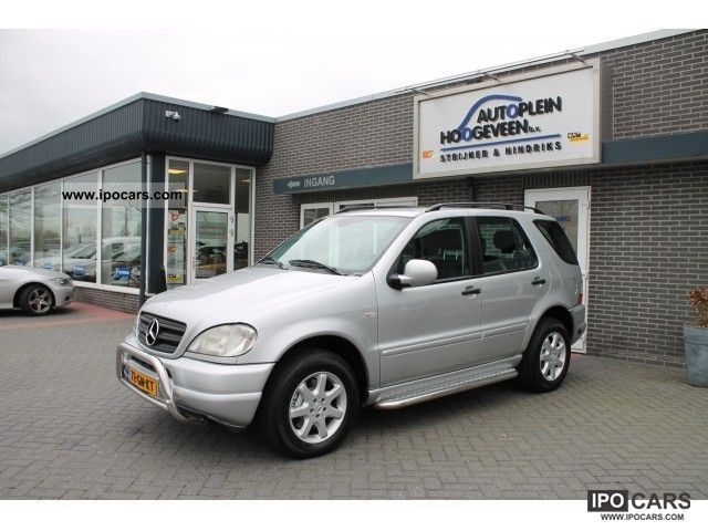 Mercedes-Benz  ML 430 430 V8 LPG Automaat * G3 * 2001 Liquefied Petroleum Gas Cars (LPG, GPL, propane) photo