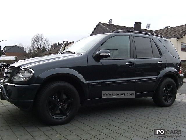 2002 Mercedes Benz Ml 55 Amg Car Photo And Specs