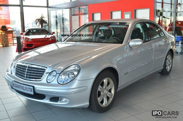 2004 mercedes benz e 220 cdi automatic 1 hand pdc car photo and specs. Black Bedroom Furniture Sets. Home Design Ideas