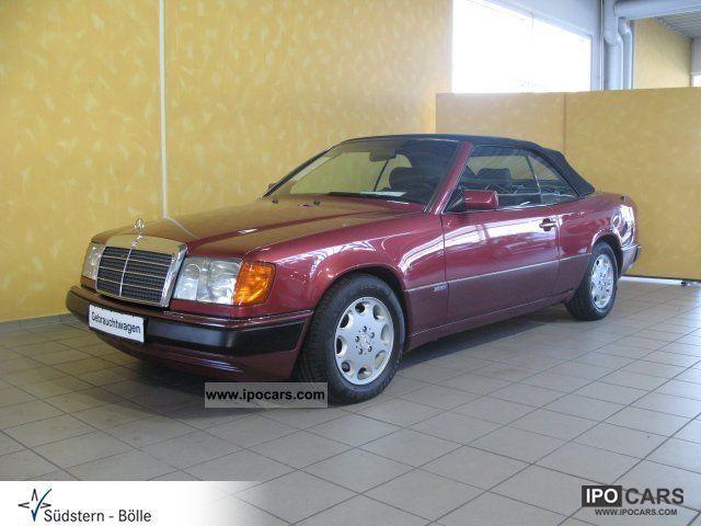 1993 mercedes benz 300 ce 24 cabriolet sport auto sitzhzg climate car photo and specs. Black Bedroom Furniture Sets. Home Design Ideas