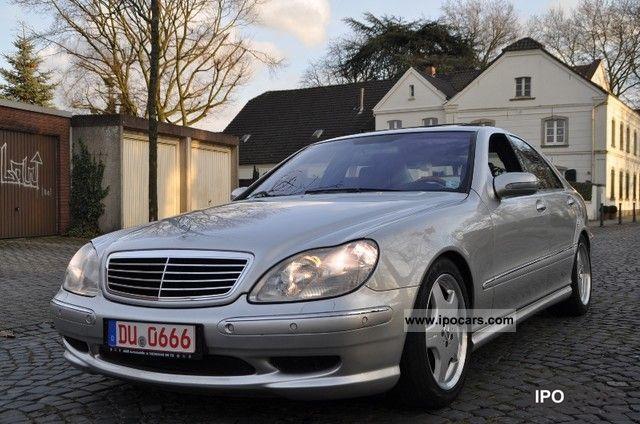 2002 mercedes benz s 320 amg package keyless go for Mercedes benz keyless go