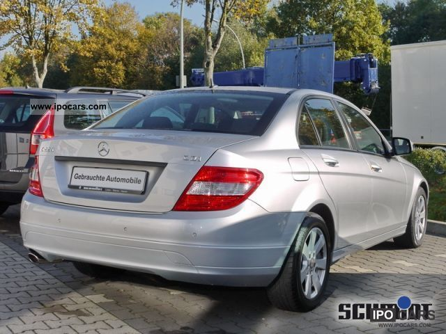 2008 mercedes benz c220 cdi parking aid air navigation car photo and specs. Black Bedroom Furniture Sets. Home Design Ideas