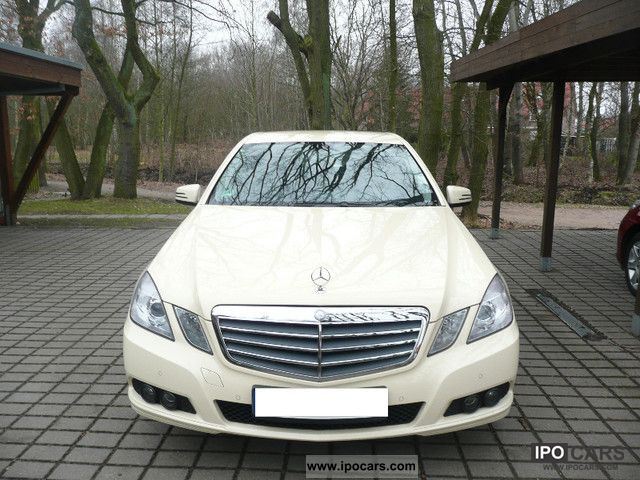 2010 Mercedes-Benz  E 200 CDI BlueEFFICIENCY DPF Auto Elegance Limousine Used vehicle photo