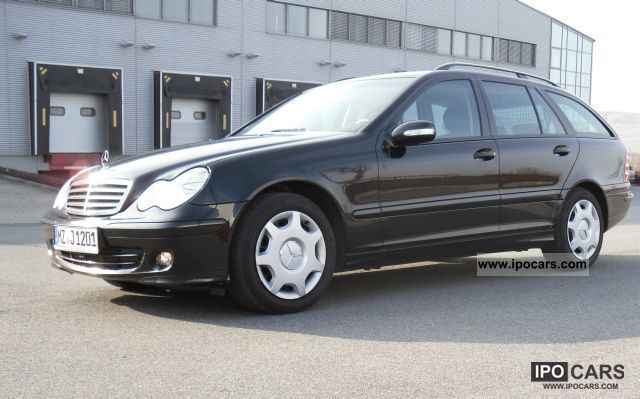 2007 mercedes benz c 200 t cdi dpf maintained one hand check car photo and specs. Black Bedroom Furniture Sets. Home Design Ideas