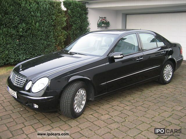 2003 mercedes benz e 240 elegance car photo and specs. Black Bedroom Furniture Sets. Home Design Ideas