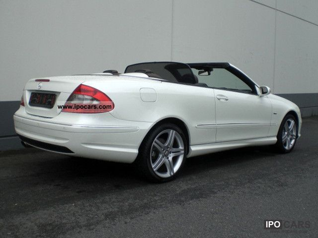 2009 mercedes benz clk convertible 200 komp avantgarde aut for Mercedes benz clk 2009