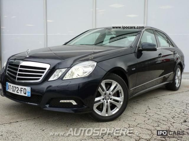 2010 mercedes benz classe e 350 cdi be avantg ex 7gtro car photo and specs - Mercedes classe e coupe 350 cdi ...