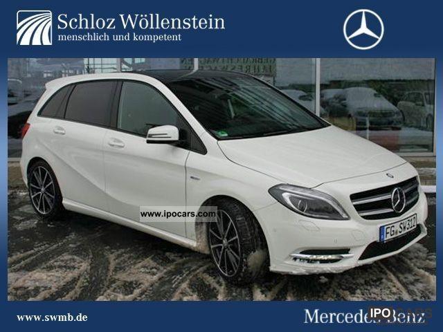 2011 Mercedes-Benz  B 200 CDI BE Night Package Navigation / Rückfahrk / neuesMod Van / Minibus Demonstration Vehicle photo